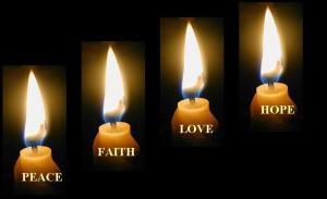 Hati yang damai dalam keimanan dan kepercayaan dapat membawa cinta dengan penuh harapan